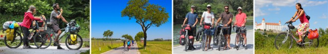 bicycle touring in one hour