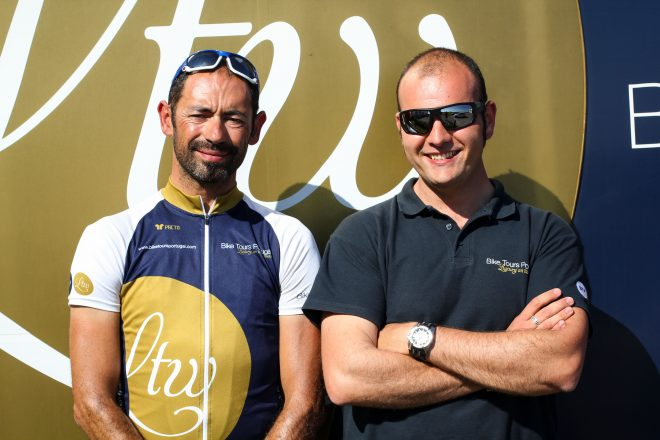 Jose and Andre - tour leaders with Bike Tours Portugal